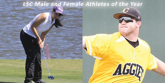 LSC Male and Female Athletes of the Year